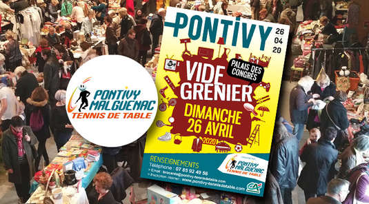 BROCANTE DU CLUB A PONTIVY | 26 AVRIL 2020